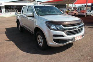 2019 Holden Colorado RG MY19 LS Pickup Crew Cab Silver 6 Speed Sports Automatic Utility.