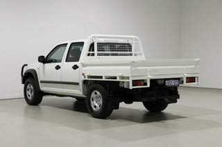 2011 Isuzu D-MAX TF MY10 SX (4x4) White 5 Speed Manual Crew Cab Chassis
