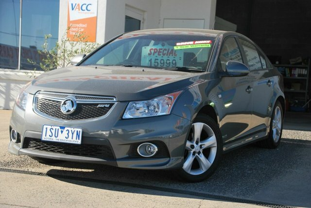 Used Holden Cruze JH MY12 SRi V Wendouree, 2012 Holden Cruze JH MY12 SRi V Grey 6 Speed Automatic Sedan