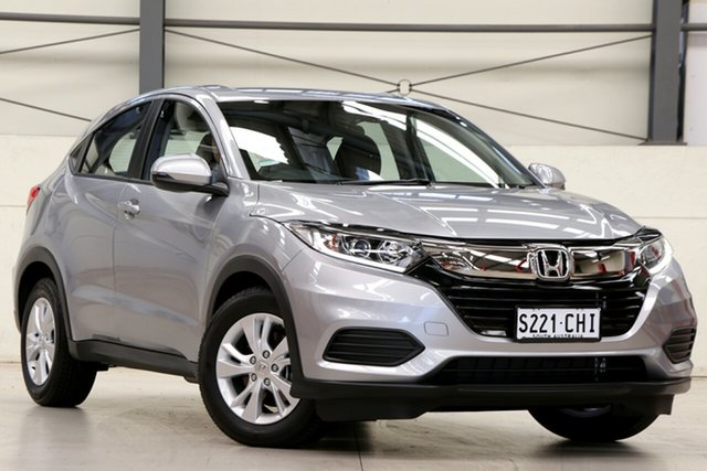 Demo Honda HR-V MY21 VTi Glen Osmond, 2020 Honda HR-V MY21 VTi Lunar Silver 1 Speed Constant Variable Hatchback