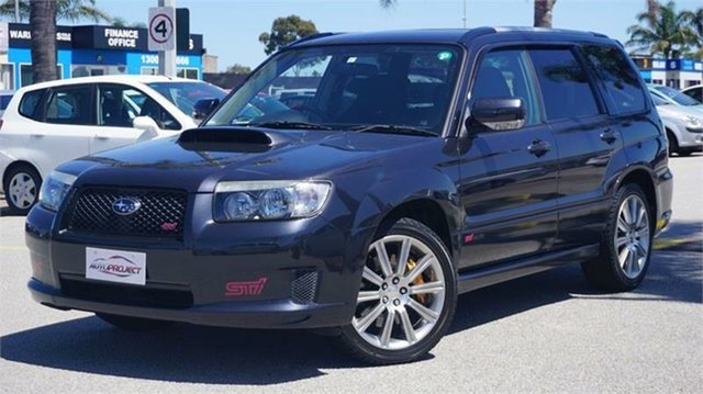 Used Subaru Forester STi Cheltenham, 2007 Subaru Forester STi Black Manual