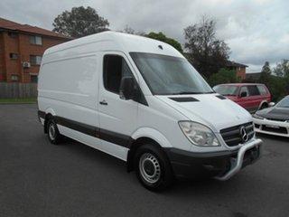 2012 Mercedes-Benz Sprinter 906 MY11 313CDI MWB White 5 Speed Automatic Van.