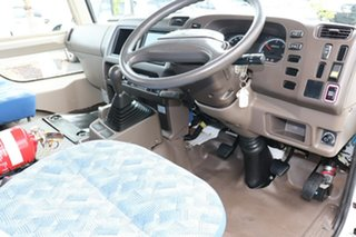 2015 Mitsubishi Rosa BE64D Deluxe White Manual Midi Coach