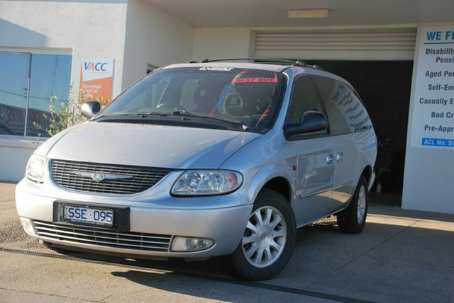 Used Chrysler Voyager RG 05 Upgrade LX Wendouree, 2004 Chrysler Voyager RG 05 Upgrade LX Silver 4 Speed Automatic Wagon