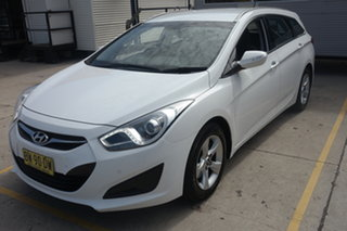 2013 Hyundai i40 VF2 Active Tourer White 6 Speed Sports Automatic Wagon.