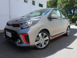2019 Kia Picanto JA MY19 GT-Line Silver 4 Speed Automatic Hatchback.