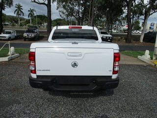 2015 Holden Colorado RG MY16 LS Crew Cab 4x2 White 6 Speed Sports Automatic Utility