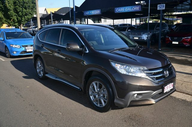 Used Honda CR-V 30 MY14 VTi-S (4x4) Toowoomba, 2014 Honda CR-V 30 MY14 VTi-S (4x4) Brown 5 Speed Automatic Wagon