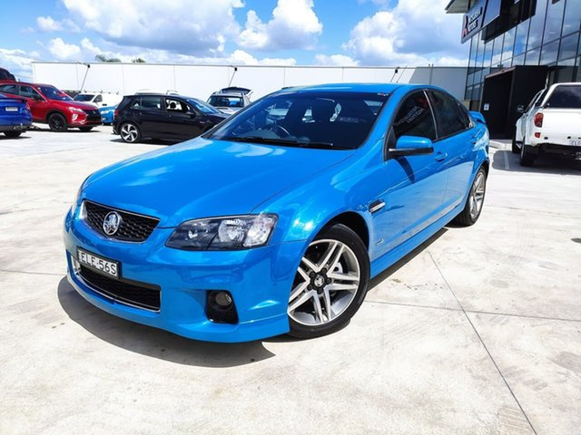 Used Holden Commodore VE II MY12 SV6 Liverpool, 2012 Holden Commodore VE II MY12 SV6 Blue 6 Speed Sports Automatic Sedan