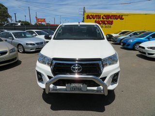 2019 Toyota Hilux GUN136R MY19 Upgrade SR Hi-Rider White 6 Speed Manual Double Cab Pick Up.