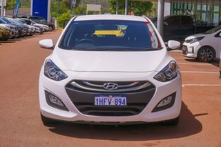 2014 Hyundai i30 GD2 MY14 Trophy White 6 Speed Sports Automatic Hatchback