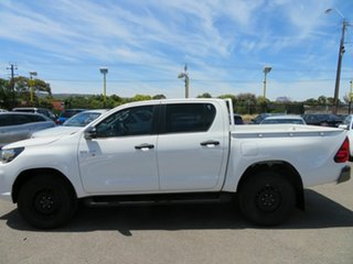 2019 Toyota Hilux GUN136R MY19 Upgrade SR Hi-Rider White 6 Speed Manual Double Cab Pick Up