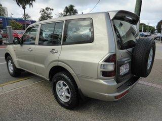 2002 Mitsubishi Pajero NM Commonwealth Games Ltd Ed Gold 5 Speed Auto Sports Mode Wagon
