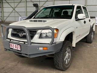 2010 Holden Colorado RC MY10 LX Crew Cab White 4 Speed Automatic Utility.
