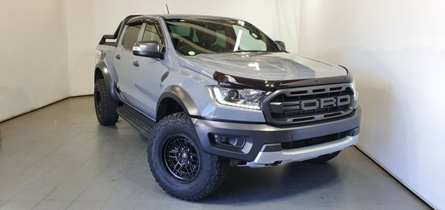 Used Ford Ranger PX MkIII 2019.00MY Raptor Elizabeth, 2018 Ford Ranger PX MkIII 2019.00MY Raptor Grey 10 Speed Sports Automatic Utility