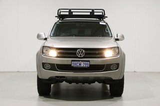 2015 Volkswagen Amarok 2H MY15 TDI420 Highline (4x4) Beige 8 Speed Automatic Dual Cab Utility.
