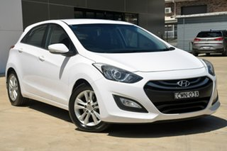 2013 Hyundai i30 GD Elite White 6 Speed Sports Automatic Hatchback