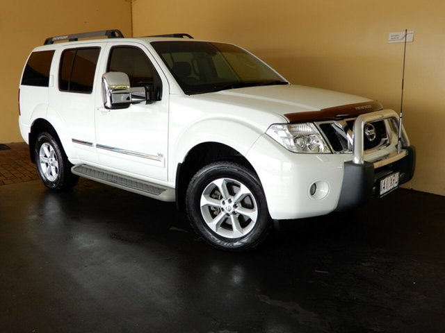 Used Nissan Pathfinder R51 Series 4 TI 550 (4x4) Toowoomba, 2012 Nissan Pathfinder R51 Series 4 TI 550 (4x4) White 7 Speed Automatic Wagon