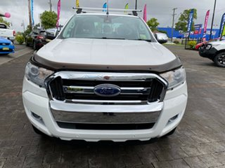 2016 Ford Ranger XLT White Sports Automatic Double Cab Pick Up.