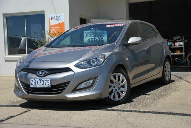 Used Hyundai i30 GD Active Wendouree, 2012 Hyundai i30 GD Active Grey 6 Speed Automatic Hatchback