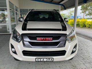 2019 Isuzu D-MAX LS-T White Sports Automatic Dual Cab Utility.