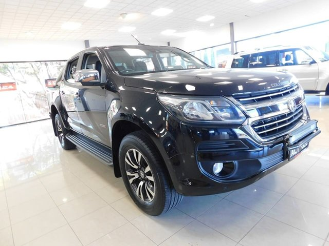 Used Holden Colorado RG MY17 LTZ Pickup Crew Cab Wonthaggi, 2017 Holden Colorado RG MY17 LTZ Pickup Crew Cab Black 6 Speed Sports Automatic Utility