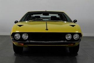 1976 Lamborghini Espada Series III 4 Seat Yellow 3 Speed Automatic Coupe.