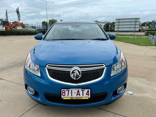 2014 Holden Cruze JH Series II MY14 Equipe Blue/230115 5 Speed Manual Sedan