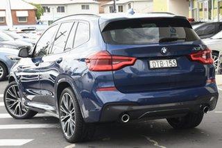2018 BMW X3 G01 xDrive30I Blue 8 Speed Automatic Wagon.