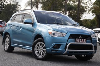 2010 Mitsubishi ASX XA MY11 2WD Kingfisher Blue 5 Speed Manual Wagon.