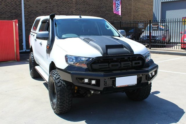 Used Ford Ranger PX MkII XLS 3.2 (4x4) Hoppers Crossing, 2016 Ford Ranger PX MkII XLS 3.2 (4x4) White 6 Speed Automatic Double Cab Pick Up