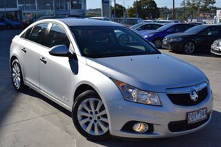 2012 Holden Cruze JH Series II MY12 CDX Billet Silver 6 Speed Sports Automatic Sedan.