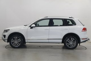 2017 Volkswagen Touareg 7P MY17 V6 TDI Tiptronic 4MOTION Adventure White 8 Speed Sports Automatic.