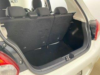 2013 Mitsubishi Mirage LA LS White 5 Speed Manual Hatchback