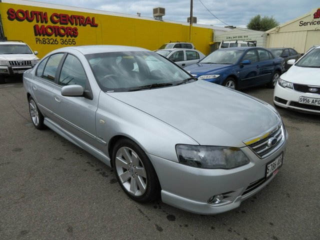 Used Ford Fairmont BF MkII Ghia Morphett Vale, 2007 Ford Fairmont BF MkII Ghia Silver 6 Speed Auto Seq Sportshift Sedan