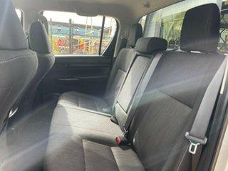 2016 Toyota Hilux GUN126R SR Double Cab Silver 6 Speed Manual Utility