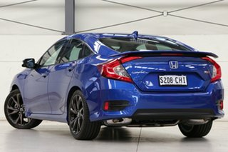 2020 Honda Civic 10th Gen MY20 RS Brilliant Sporty Blue 1 Speed Constant Variable Sedan.