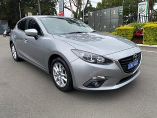 2016 Mazda 3 BM5478 Maxx SKYACTIV-Drive Silver 6 Speed Sports Automatic Hatchback.