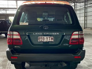 2003 Toyota Landcruiser HDJ100R GXL Green 5 Speed Manual Wagon