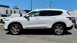 2020 Hyundai Santa Fe Tm.v3 MY21 Active CRDi (AWD) White Cream 8 Speed Auto Dual Clutch Wagon