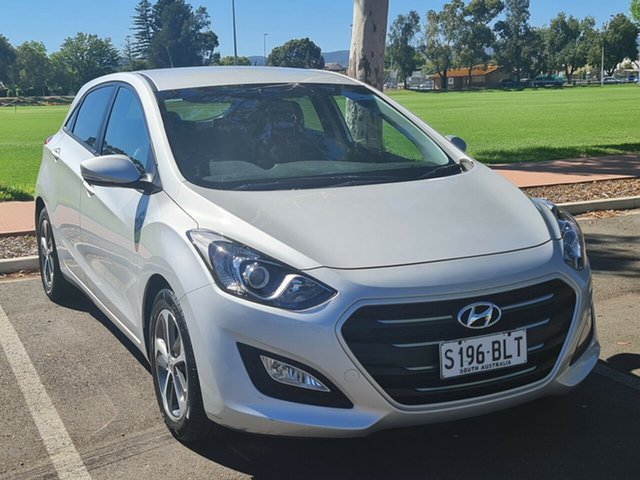 Used Hyundai i30 GD4 Series II MY17 Active X Nailsworth, 2016 Hyundai i30 GD4 Series II MY17 Active X Silver 6 Speed Sports Automatic Hatchback