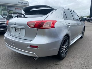2016 Mitsubishi Lancer CF MY17 GSR Sportback Silver 5 Speed Manual Hatchback