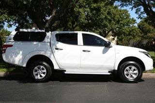 2016 Mitsubishi Triton MQ MY16 GLX+ Double Cab White 5 Speed Sports Automatic Utility