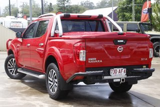 2015 Nissan Navara D23 ST-X Red 7 Speed Sports Automatic Utility.