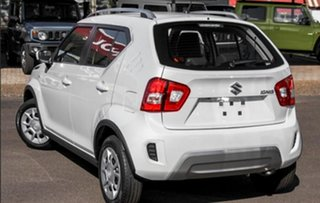 2020 Suzuki Ignis MF Series II GL Pure White Pearl 1 Speed Constant Variable Hatchback.