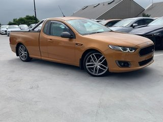 2014 Ford Falcon FG X XR6 Ute Super Cab Turbo Orange 6 Speed Manual Utility.