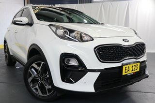 2018 Kia Sportage QL MY19 Si 2WD Premium White 6 Speed Sports Automatic Wagon.