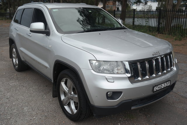 Used Jeep Grand Cherokee WK MY2011 Limited Maryville, 2011 Jeep Grand Cherokee WK MY2011 Limited Silver 5 Speed Sports Automatic Wagon