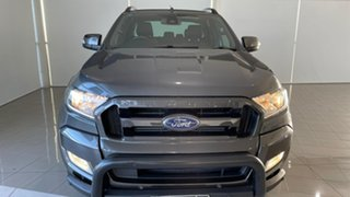 2018 Ford Ranger PX MkII 2018.00MY Wildtrak Double Cab Grey 6 Speed Sports Automatic Utility