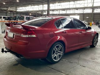 2011 Holden Commodore VE II MY12 SV6 Red 6 Speed Sports Automatic Sedan